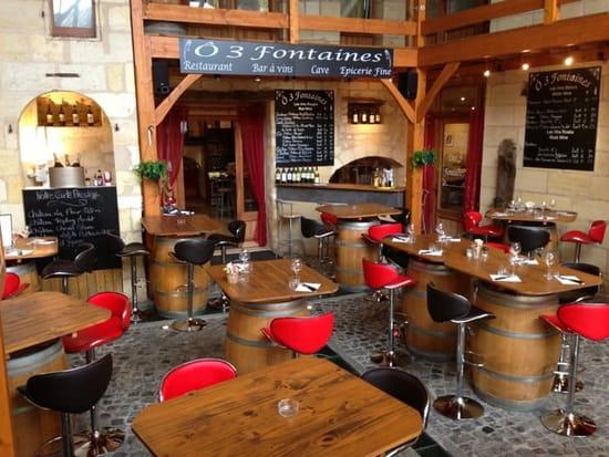 Restaurant : Au 3 Fontaines