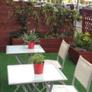 Restaurant : Al Dente Melun  - Très Belle Terrasse fleurie...  -