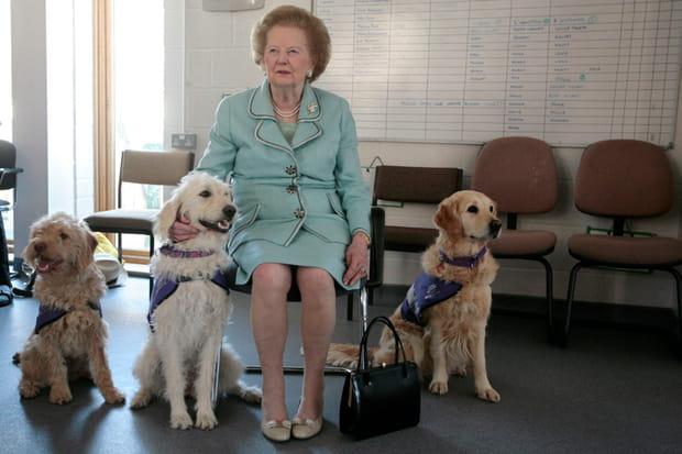 A l'inauguration d'un centre canin