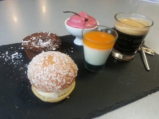 Dessert : Restaurant le M  - Café très gourmand -