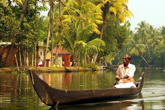 Le Kerala, l'Inde tropicale
