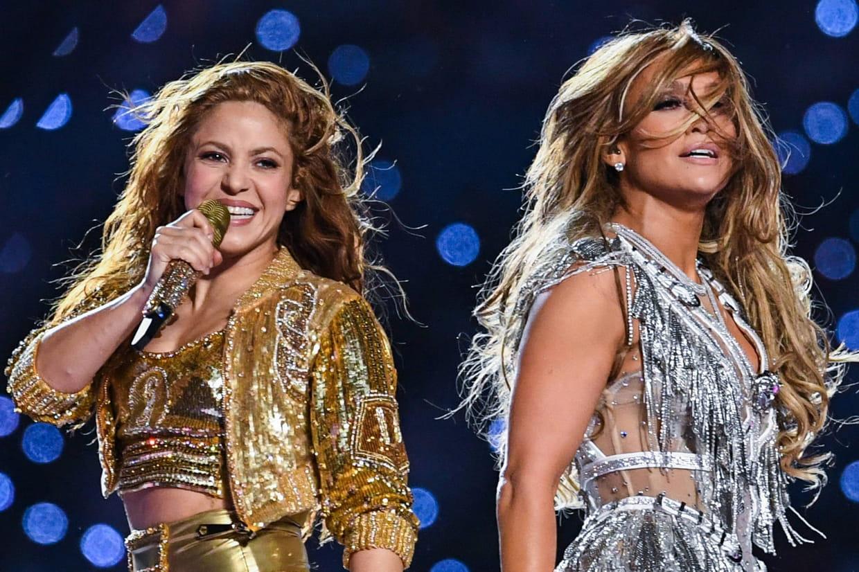 Shakira et Jennifer Lopez enflamment la mi-temps — Super Bowl