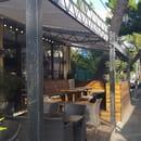 Restaurant : Seven Street Kfé  - petite terrasse exterrieur seven street kfe -   © photo seven street kfe