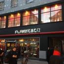 Restaurant : Flamme&co  - Façade sur rue -