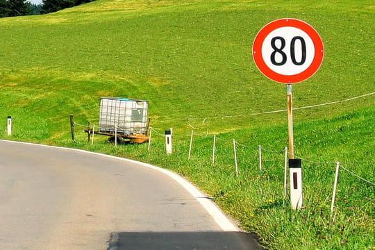 routes 80 km h quelles sont les routes o la vitesse va diminuer. Black Bedroom Furniture Sets. Home Design Ideas