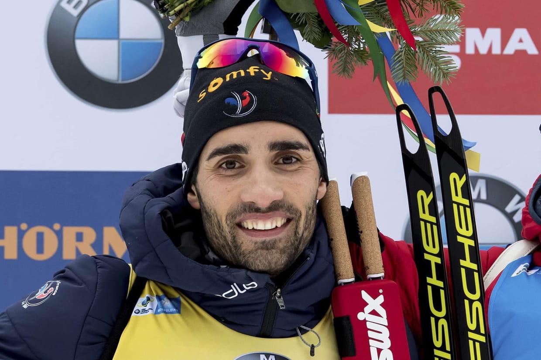 JO 2018 : Martin Fourcade sacré champion olympique en biathlon