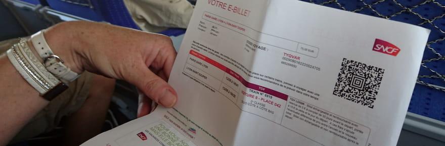 Billet SNCF: 50% du billet sera remboursé dès une heure de retard