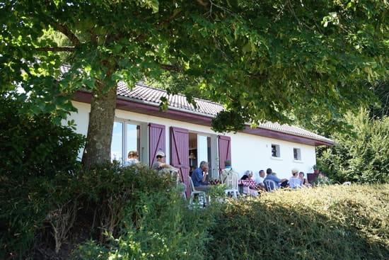 Bistrot du Camp de César  - La terrasse arrière -