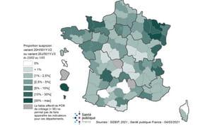 Variant du Covid en France: les enfants sont les plus touchés actuellement (carte)