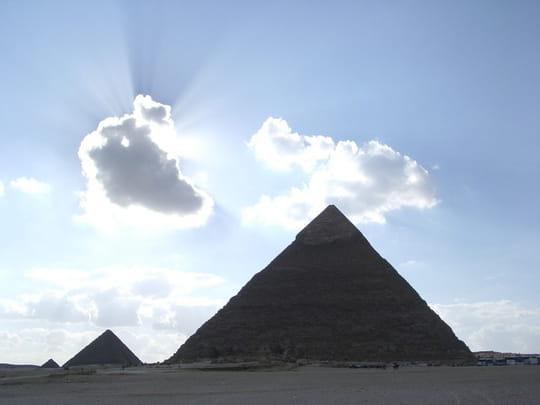 Les mystères des pyramides d'Egypte passés au scanner [VIDEO]
