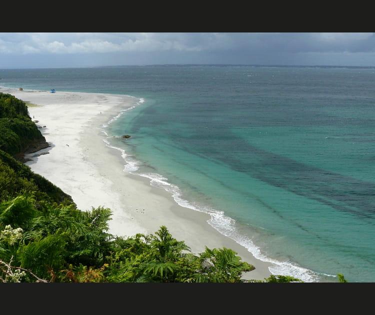 La plage des Grands Sables sur l'île de Groix