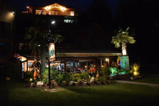 Restaurant : Le Pirate  - Vue de nuit -