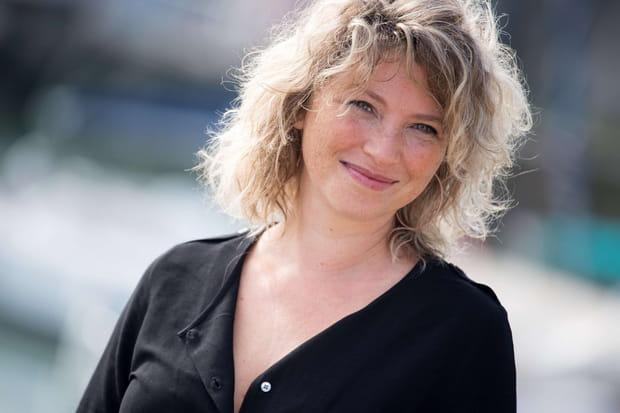 La comédienne Cécile Bois