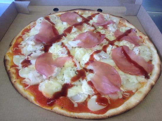 Plat : La Cabane à Pizza  - Pizza Texane -   © La Cabane à Pizza