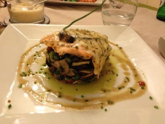 Plat : Sogni D'Italia  - Saumon gratiné -