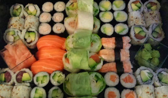 Plat : Sushi Box 13  - Plateau -