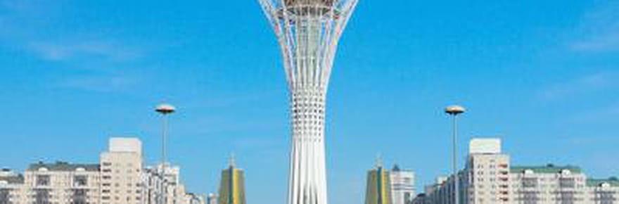 Les constructions folles du Kazakhstan