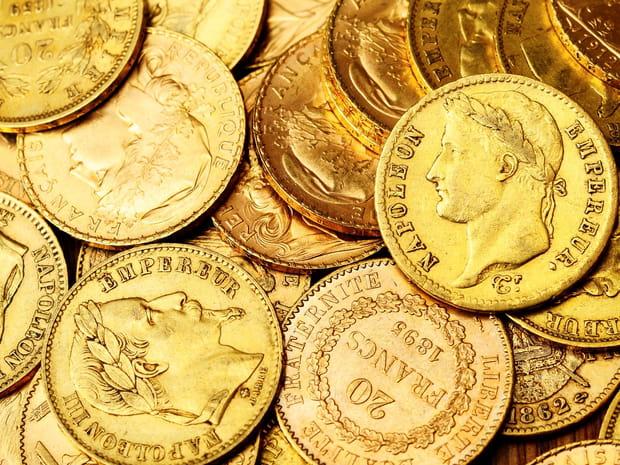 Louis d'or, napoléon et vieux francs... Combien valent vos vieilles pièces d'or?