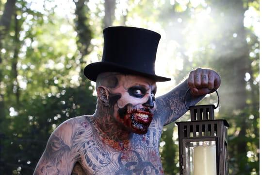 Mort de Zombie Boy: des tatouages... Et deux records au Guinness Book