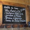 Restaurant : Le Chalet  - Galette du mois -   © Laurent