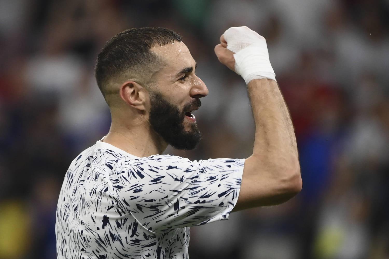 Karim Benzema: pourquoi-a-t-il toujours ce bandage à la main droite?