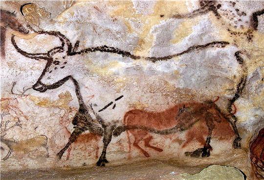 Le deuxième taureau-bison rouge