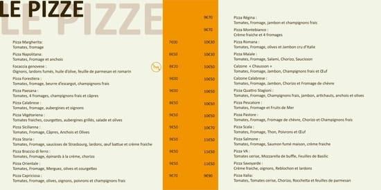 La Scala  - Nos Pizza -   © Propriétaire