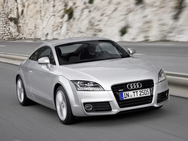 Numéro 37 ex aequo : Audi TT