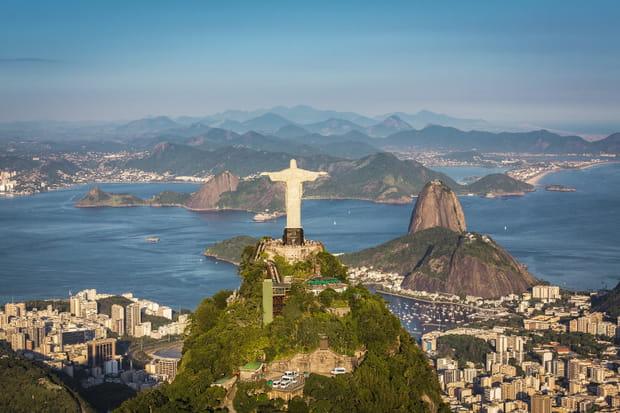 Le Christ Rédempteur de Rio de Janeiro (Nouvelle merveille du monde)