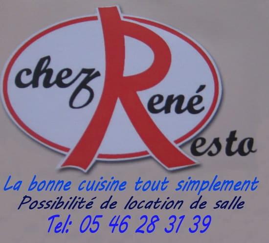 Chez René  - Menus pour groupes -