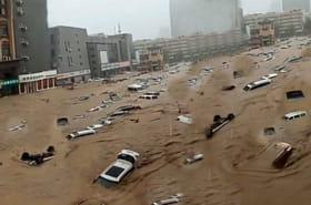 PHOTO. Les images des inondations à Zhengzhou en Chine