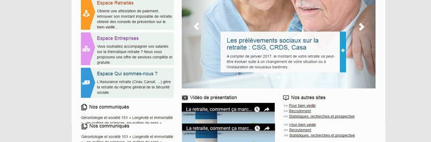 lassuranceretraite.fr: comment demander sa retraite en ligne ou trouver son relevé de carrière?