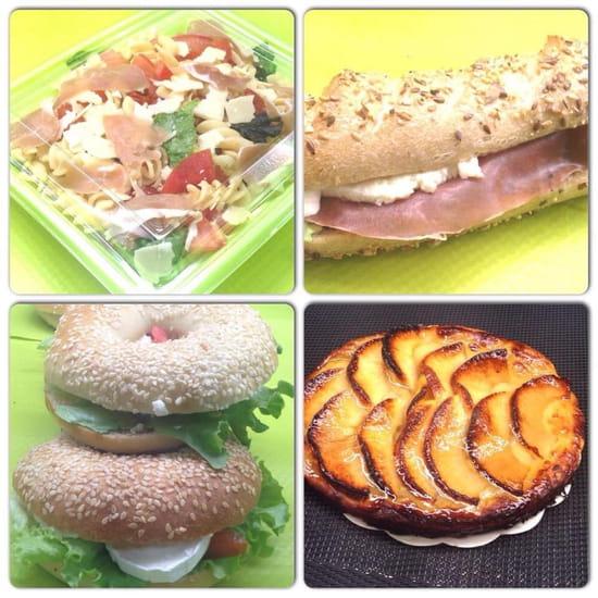Chef à Table  - Sandwiches,salades,bagels,desserts ... -