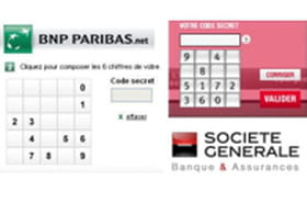 Sécurité des comptes en ligne : BNP Paribas vs Société Générale