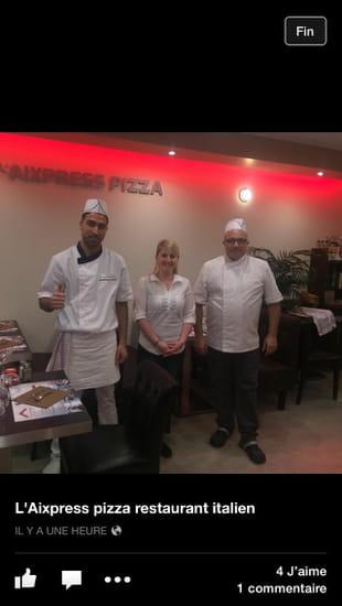 L'Aixpress Pizza  - Équipe du restaurant  -