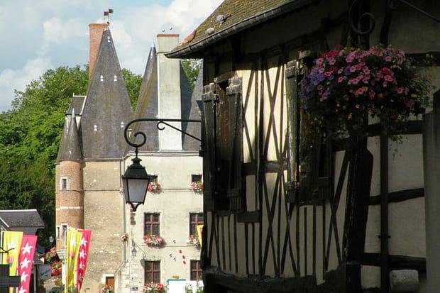 Aubigny-sur-Nère et le château des Stuarts