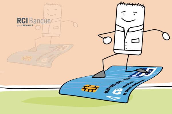 7e renault avec une visa classique associ un cr dit renouvelable. Black Bedroom Furniture Sets. Home Design Ideas