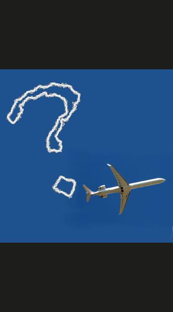 Les questions qu'on se pose dans l'avion