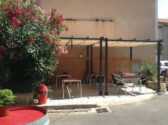 La Part de l'Ange  - La terrasse, au coin de la place de l'Hôpital -