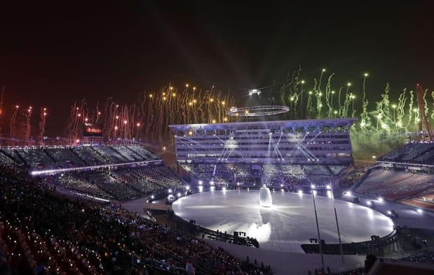 En images: les meilleurs moments de la cérémonie d'ouverture des Jeux de Pyeonchang