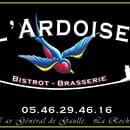Restaurant : L 'Ardoise  - L'ADOISE enseigne -   © L'ARDOISE LR