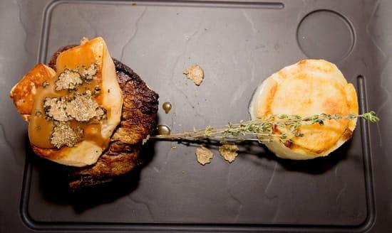 Restaurant Albert 1er  - Boeuf Rossini -   © Cook&Shoot