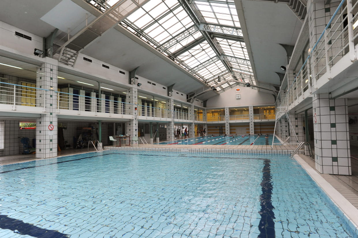 Piscine hebert xviiie arrondissement for Piscine emile anthoine