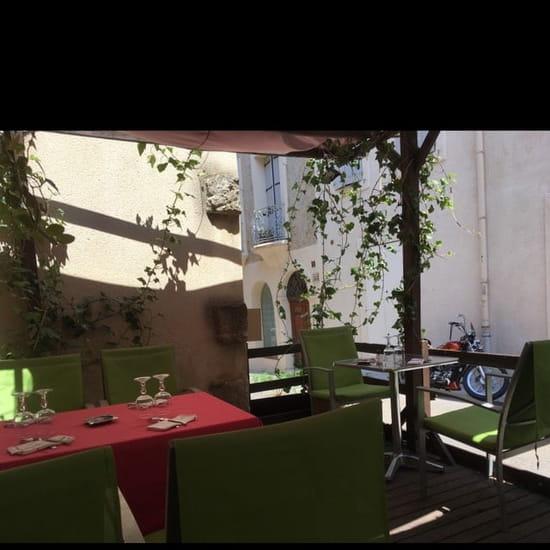 Restaurant : L'Oleiade  - Terrasse -
