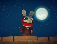 Les lapins crétins : invasion : Envahisseur crétin. - Voix crétine. - Babysitting crétin