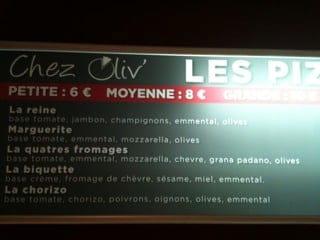 Restaurant : Chez Oliv