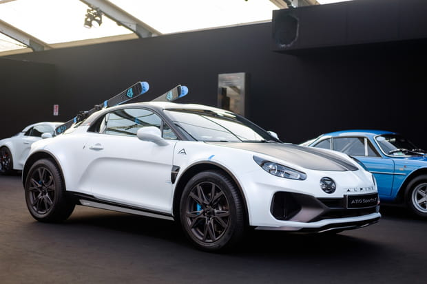 Alpine dévoile l'A110SportsX au Festival Automobile International