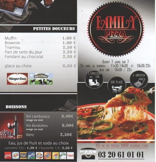 Family Pizza  - Family Pizza -