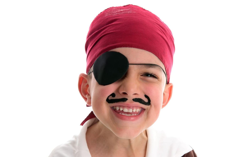 Déguisement de pirate: comment le faire soi-même