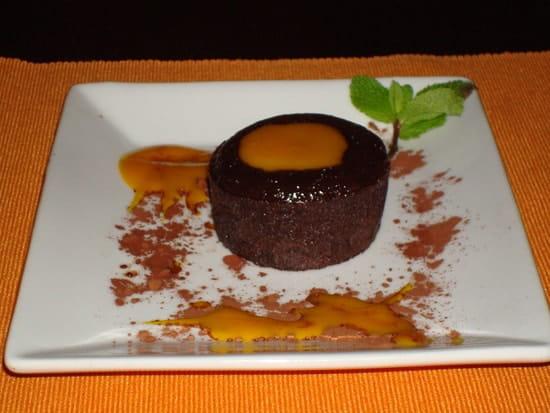 Teranga Bar restaurant  - Un délicieux fondant Mangue -